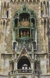 Glockenspiel Rathaus Munich Royalty Free Stock Photos