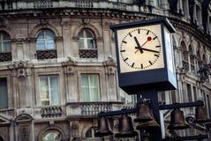 Glockenspielen Royaltyfri Fotografi