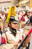 Glockenspielspeler Royalty-vrije Stock Foto