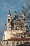 Glockentürme in Venedig stockfotos