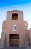 Glockenturm Adobes mit Kreuz Lizenzfreie Stockfotos