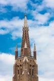 Glockenturm in Brügge lizenzfreies stockfoto