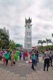 Glockenturm in Bukittinggi Lizenzfreies Stockfoto