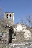 Glockenturm in Campillo de Ranas Lizenzfreies Stockfoto