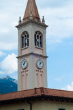 Glockenturm Colico Lizenzfreie Stockbilder