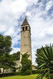 Glockenturm in der Spalte, Kroatien Stockfotografie
