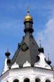 Glockenturm des Bogoyavlensky Klosters Lizenzfreie Stockfotos