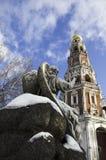 Glockenturm des neuen Erstnonnenklosters Lizenzfreie Stockbilder