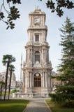 Glockenturm in Dolmapache-Palast Lizenzfreie Stockfotografie
