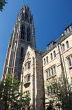 Glockenturm, Efeu-Liga-Schule Stockfoto