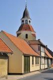 Glockenturm Faaborg Lizenzfreies Stockbild