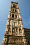 Glockenturm Florenz Giotto von Piazza Del Duomo, Italien Stockfotos