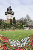 Glockenturm Graz Österreich Stockfoto