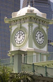 Glockenturm in Hong Kong Stockbild