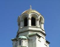 Glockenturm im skyscape Stockbild