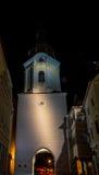 Glockenturm krems Österreich lizenzfreie stockfotos
