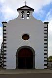 Glockenturm Lanzarote Stockfotos