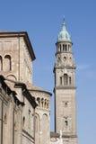 Glockenturm Sans Giovanni Evangelista, Parma Lizenzfreie Stockbilder