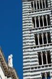 Glockenturm, Siena Stockfotos