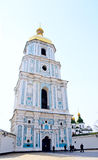 Glockenturm Sofia-Kathedrale in Kiew, Ukraine stockfotos