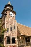 Glockenturm in Solvang Stockbilder