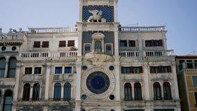 Glockenturm-St Mark Quadrat Venedig stock footage