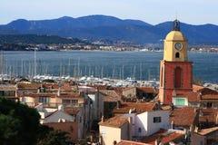 Glockenturm St Tropez Lizenzfreie Stockfotos