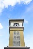 Glockenturm in Thailand Stockfotografie