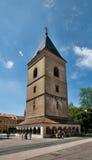 Glockenturm - Turm St. Urban's in KoÅ-¡ Eis Stockfoto