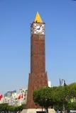 Glockenturm, Uhr stockfoto