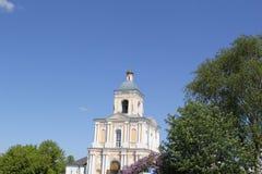Glockenturm in Velikiy Novgorod stockbild