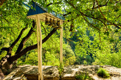 Glockenturm von Chelter-Koba stockfotos