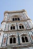 Glockenturm von Giotto Stockbilder
