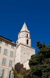 Glockenturm von Kirchen-Notre-Freifrau-DES-Accoules in Marseille Stockfoto