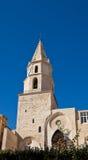 Glockenturm von Kirchen-Notre-Freifrau-DES-Accoules in Marseille Lizenzfreies Stockbild