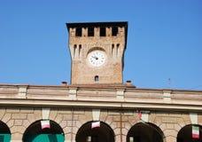 Glockenturm von Montecchio Emilia stockfotografie