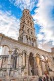Glockenturm von St. Duje Dujum Stockfotografie