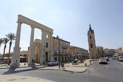 Glockenturmquadrat in altem Yaffo, Israel Lizenzfreies Stockbild