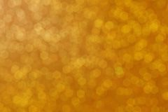 Glod bokeh abstract background and texture royalty free stock photo