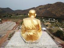 Glod buddha, det störst i världen på Nakhon Ratchasima, Thailand royaltyfri bild
