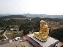 Glod buddha,the largest in the world at Nakhon Ratchasima,Thailand royalty free stock photography