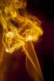 Glod smoke Royalty Free Stock Image