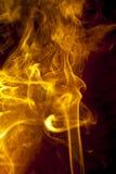 Glod smoke Stock Photo