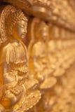 Gloden Boedha Royalty-vrije Stock Afbeeldingen