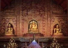 Gloden Buddha Statue Lizenzfreies Stockbild