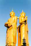 Gloden Buddha wat sumpanyu chiangmai Thailand Lizenzfreie Stockfotografie