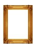 Gloden frame Stock Images