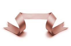 Gloden ribbon Royalty Free Stock Photography