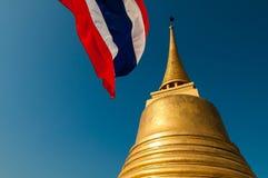 Gloden zet (Wat Sraket) in Bangkok op Royalty-vrije Stock Fotografie
