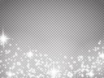Gloed speciaal effect licht, gloed, ster en uitbarsting Geïsoleerde vonk vector illustratie